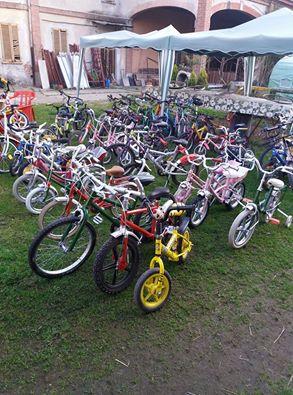 Castelverde, un sorriso per una bicicletta.