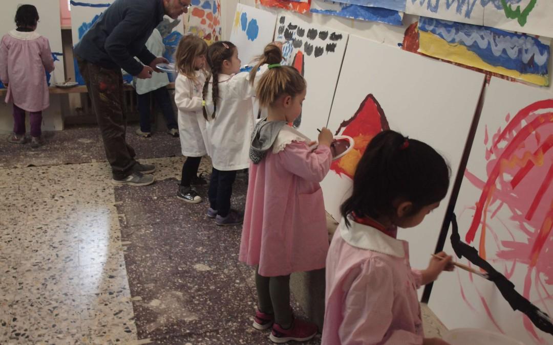 Offanengo: bambini di scuole diverse uniti dalla pittura