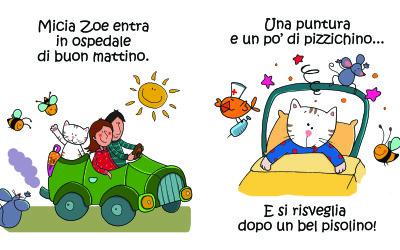 Presentazione del libro 'Micia Zoe all'ospedale'